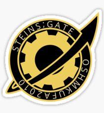 Steins;Gate - Future Gadget Laboratory Badge Sticker