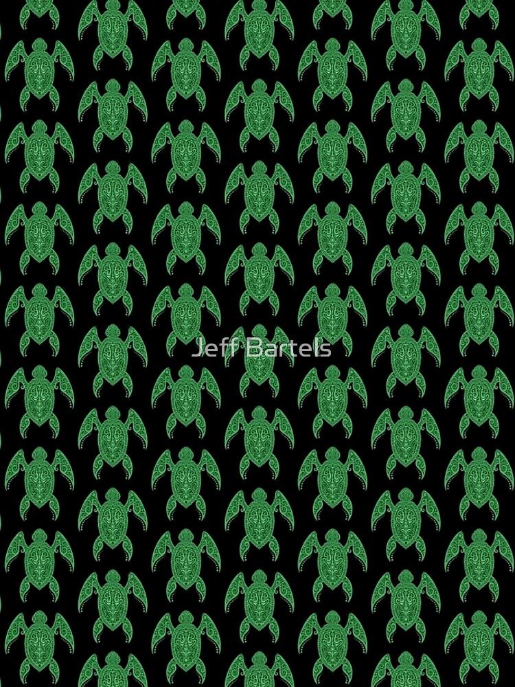 Intricate Green Sea Turtle by JeffBartels