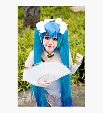 Hatsune Miku Cosplay Photographic Print