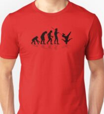 Breakdance Evolution Unisex T-Shirt