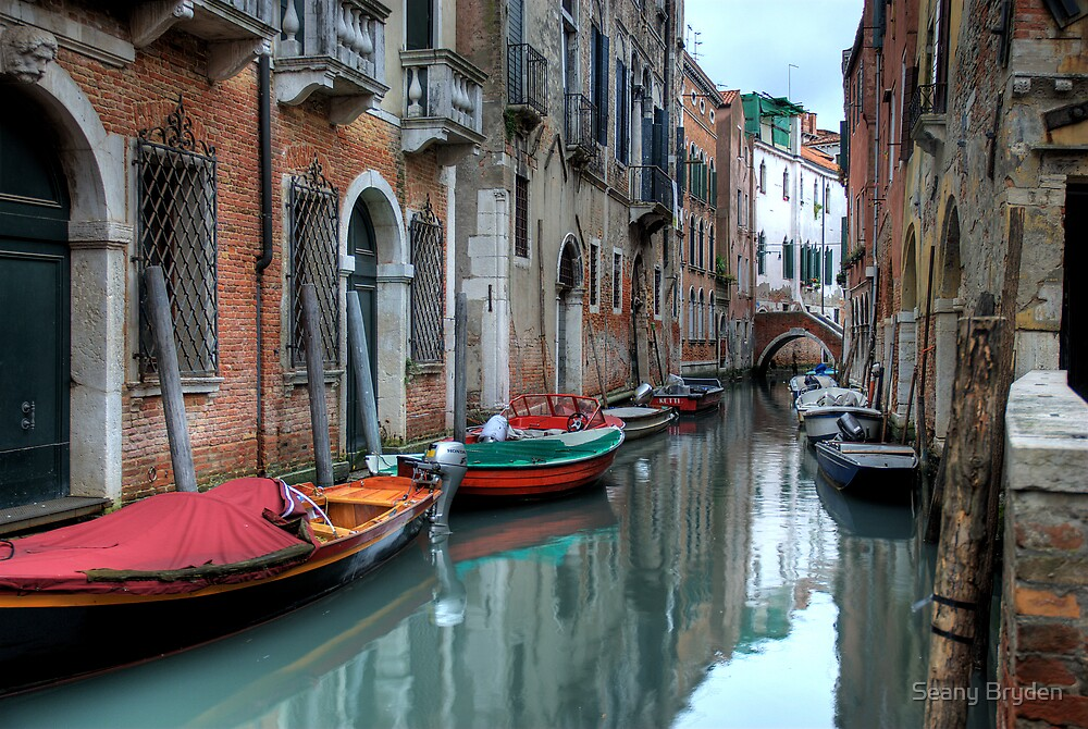 Venitian Canals by Seany Bryden