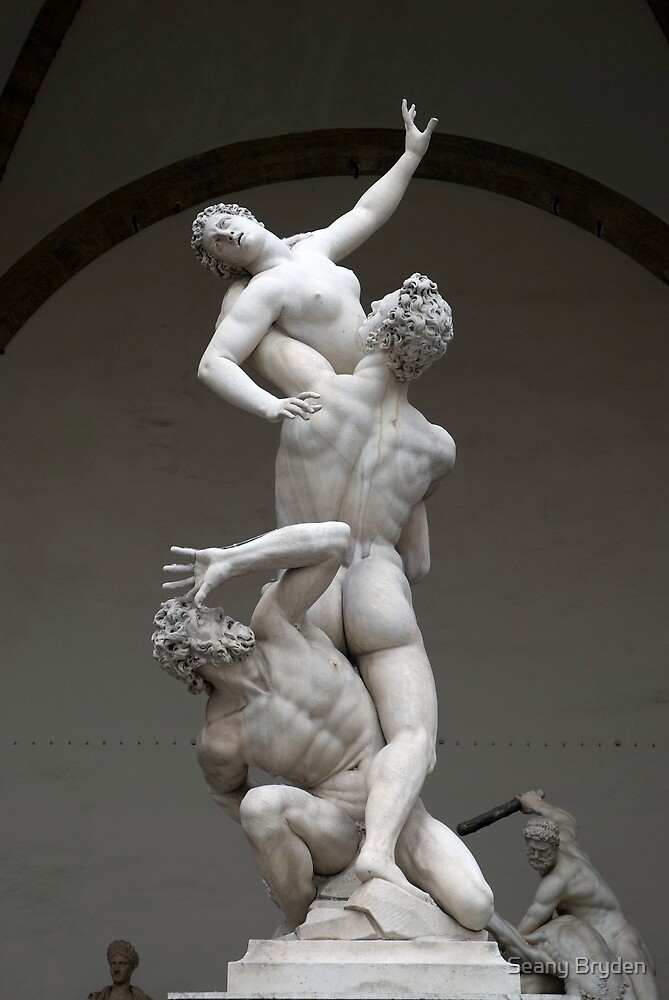 Rape of the Sabine Woman by Seany Bryden