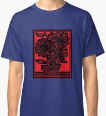 Sherill Flowers Red Black Classic T-Shirt