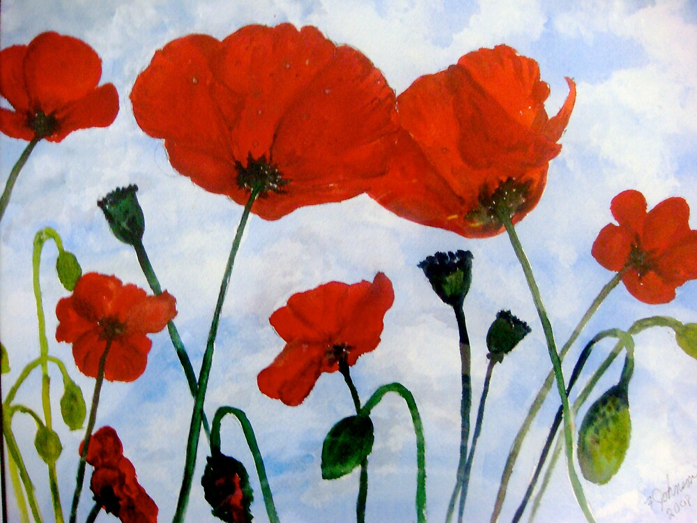 Poppies by inker1
