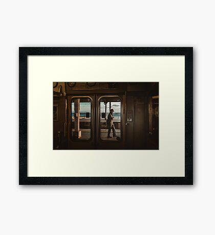 Suma Station Framed Print