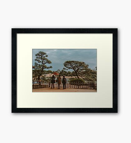 Feudal Times in the Distance Framed Print