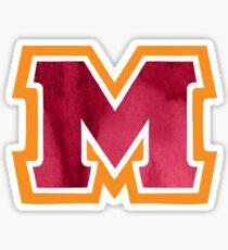 Maryville M  Sticker