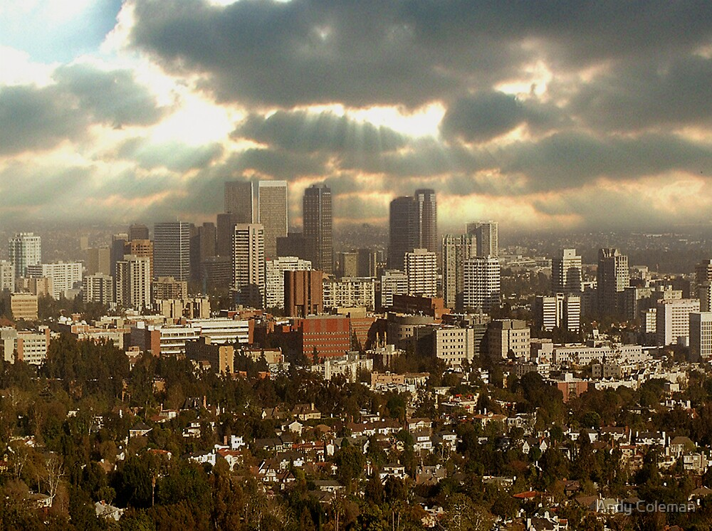 Storm over L.A. by Andy Coleman