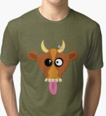 Happy Cow Tri-blend T-Shirt