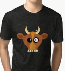 Happy Cow Tri-blend T-Shirt