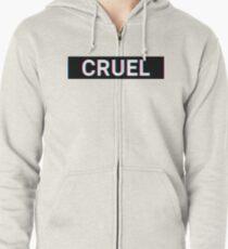 Cruel - Insult Hoodie mit Reißverschluss