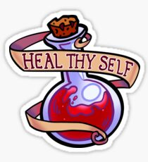 Heal Thy Self Sticker