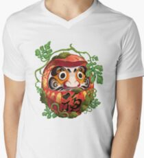 Daruma Men's V-Neck T-Shirt