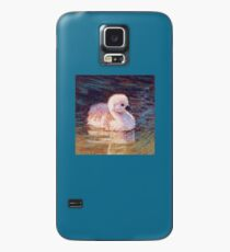 Swimming Baby Swan Cygnet Case/Skin for Samsung Galaxy