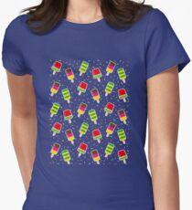 ice cream Women's Fitted T-Shirt