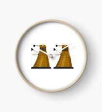 Pixel Dalek Clock