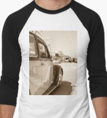 Air Force Classic VW Beetle  Men's Baseball ¾ T-Shirt