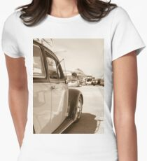 Air Force Classic VW Beetle  Women's Fitted T-Shirt
