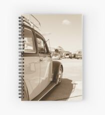 Air Force Classic VW Beetle  Spiral Notebook