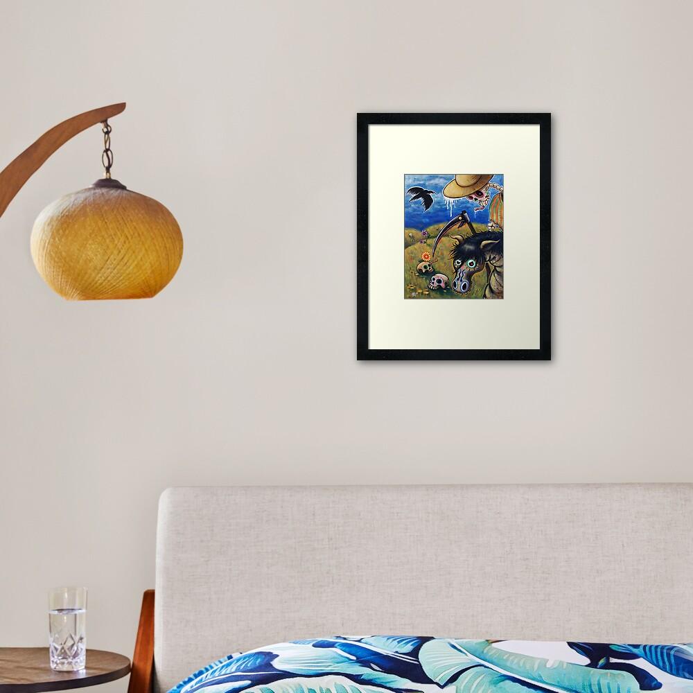 The Nameless One Framed Art Print