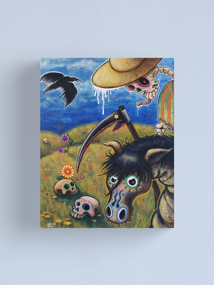 Alternate view of The Nameless One Canvas Print