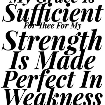 My Grace Is Sufficient For Thee by treasureart