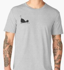 Black cat silhouette Men's Premium T-Shirt