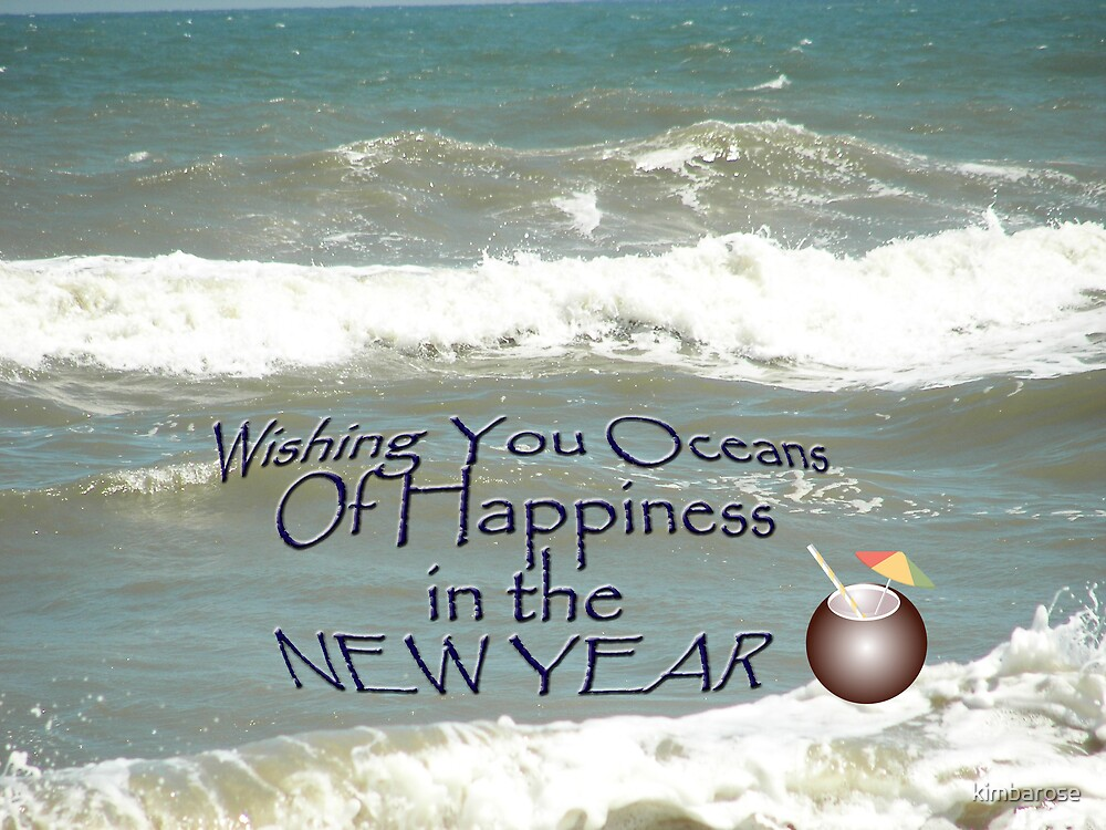 Oceans New Year by kimbarose