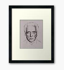 Christopher Walken tshirt and prints Framed Print