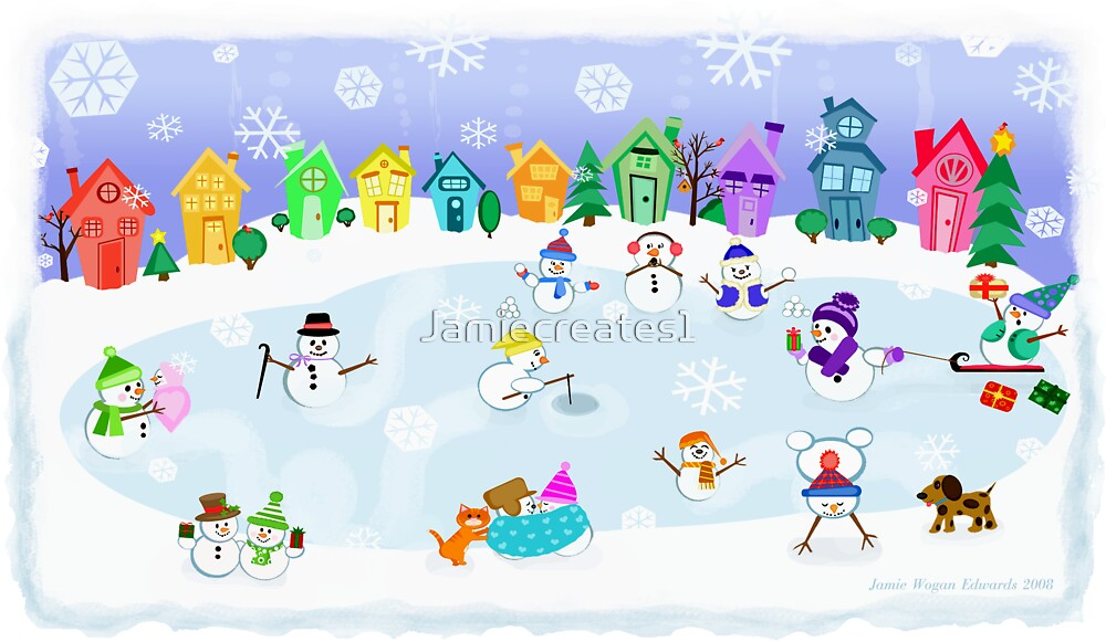 Snow Day Frozen Fun  by Jamie Wogan Edwards