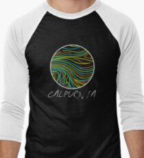 The Calpurnia Band Men's Baseball ¾ T-Shirt