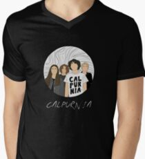 The New Song Of Calpurnia Band Men's V-Neck T-Shirt