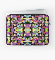 Motley Abstract Pattern Laptop Sleeve