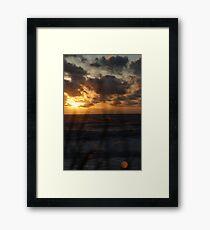 A brand new life... Framed Print