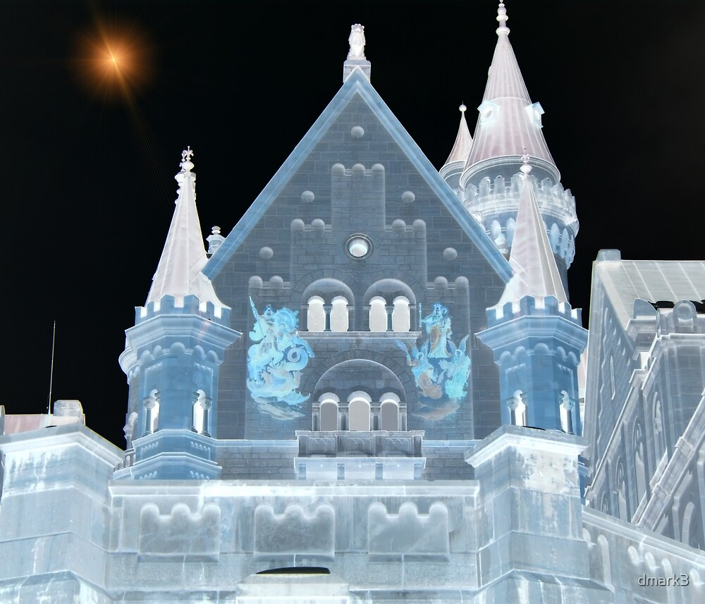 Negative Castle by dmark3