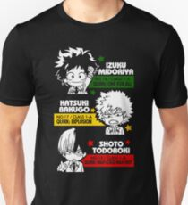 Deku, Kachan und Todoroki Slim Fit T-Shirt