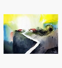 Hill Top Photographic Print