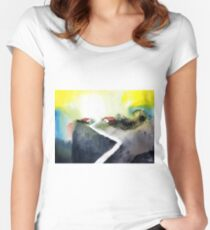 Hill Top Women's Fitted Scoop T-Shirt