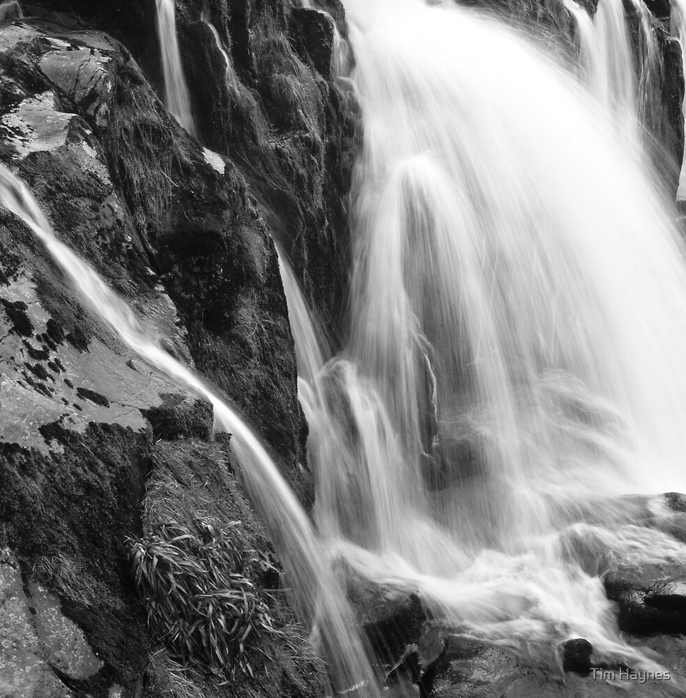 Erosion in Action: Loup of Fintry Waterfall by Tim Haynes