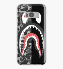 Shark Black N Patern Bape Samsung Galaxy Case/Skin