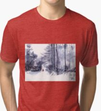 Let's go for a walk 2 Tri-blend T-Shirt