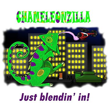 Chameleonzilla by superferretIX