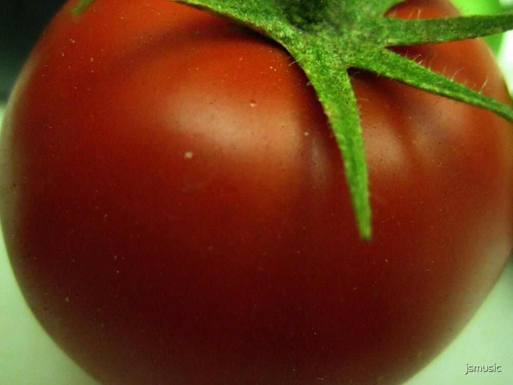 Fresh Picked tomato by jsmusic