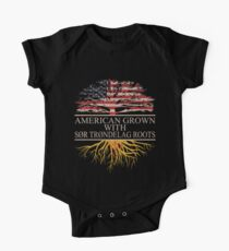 American grown with Sor trondelag Roots T-Shirt  One Piece - Short Sleeve