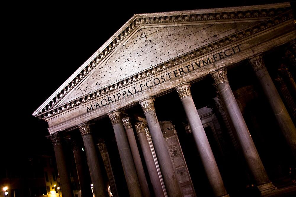 Patheon in Rome by Jye Murray