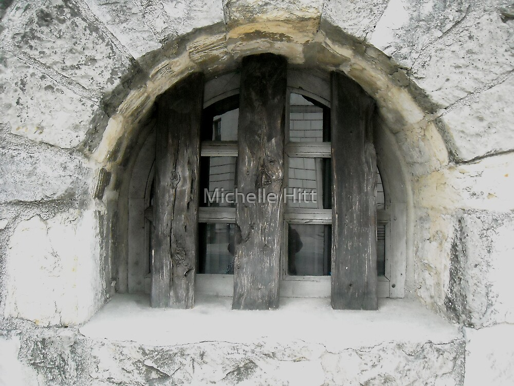Window to the Past by Michelle Hitt