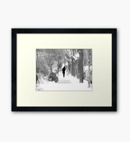 The Long December Framed Print