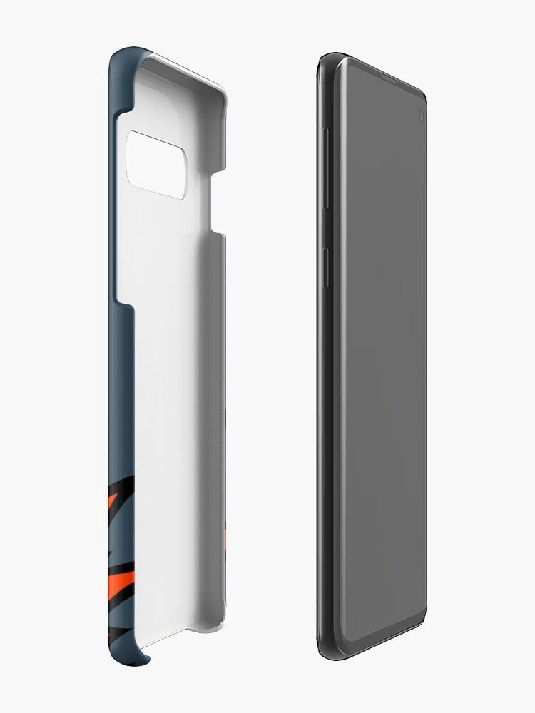 Alternative Ansicht von Cyndaquil Hülle & Klebefolie für Samsung Galaxy