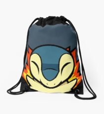 Cyndaquil Drawstring Bag
