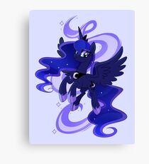 My little woona Canvas Print